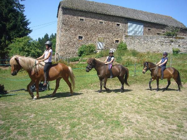 Jeux à poney